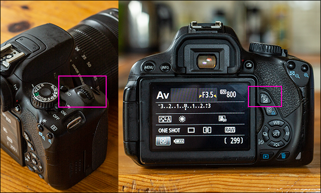 10 camera settings you should master on your canon camera rh howtogeek com canon 5d mark iii exposure compensation manual mode canon 600d exposure compensation in manual mode