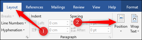 How to Position Images and Other Objects in Microsoft Word