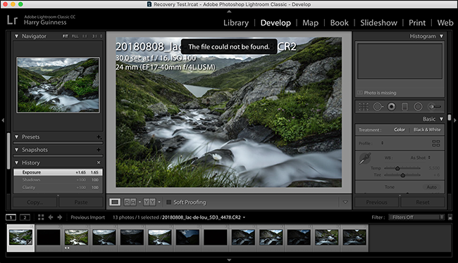 how to open cr2 files in lightroom