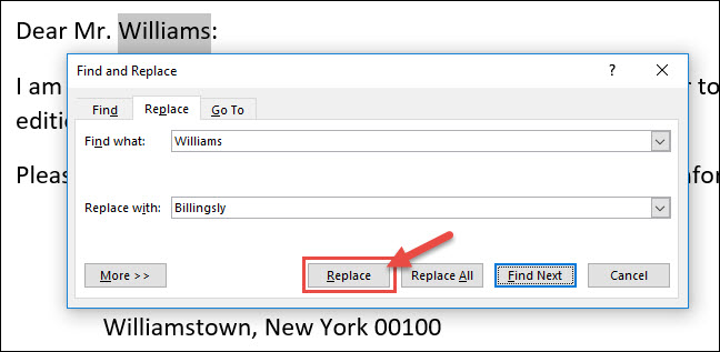 How to Find and Replace Text in Microsoft Word