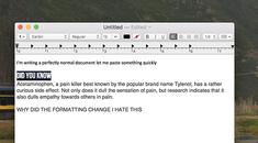 Tired of Pasted Text Messing Up Your Formatting? Try This