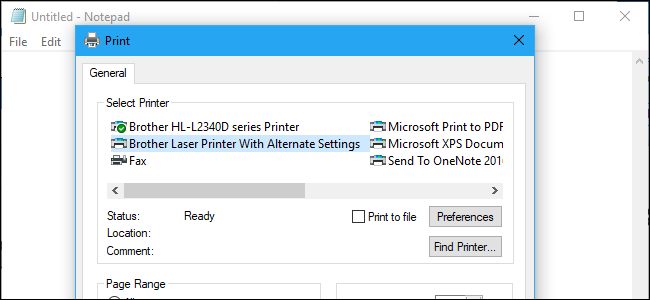 How to Install the Same Printer Twice (With Different Settings) on