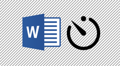 How to Tell How Long You've Worked on a Microsoft Word Document