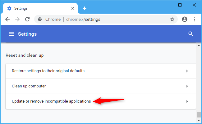"""Why is Chrome Telling Me to """"Update or Remove Incompatible"""