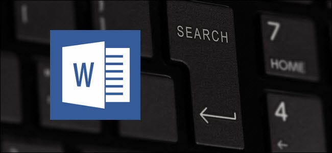 How to Use Wildcards When Searching in Word 2016