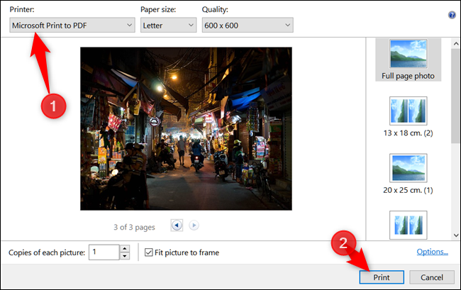 how to create a pdf file from internet page