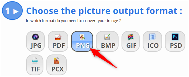 How to Convert an Image to PNG Format – CHEPA website
