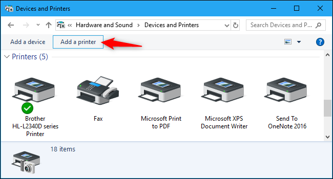 How to Manage a Printer in Windows 10