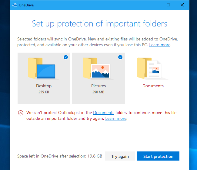 Document Moved: How To Enable Microsoft's New OneDrive Folder Protection
