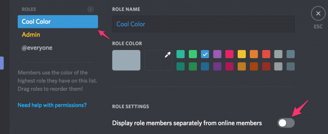 how to create your own discord server