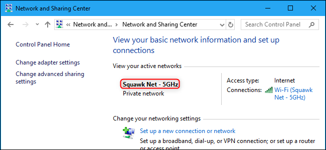 windows 8.1 how to change network profile