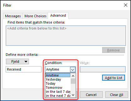 Use Conditional Formatting to Make Important Outlook Messages Stand Out