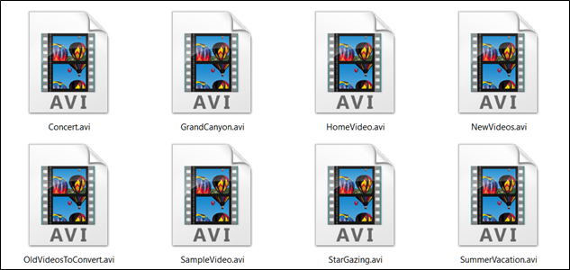 what is an avi file and how do i open one