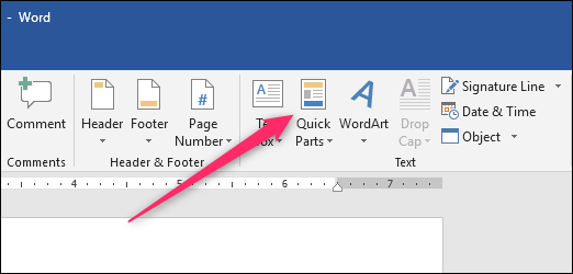 How to insert a custom cover page in word