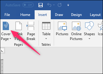 This Time Choose The Save Selection To Cover Page Gallery Command From Drop Down Menu