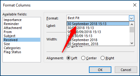 How to change the font size in microsoft outlook 2020