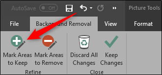 Background removal options