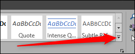 More heading styles in Word