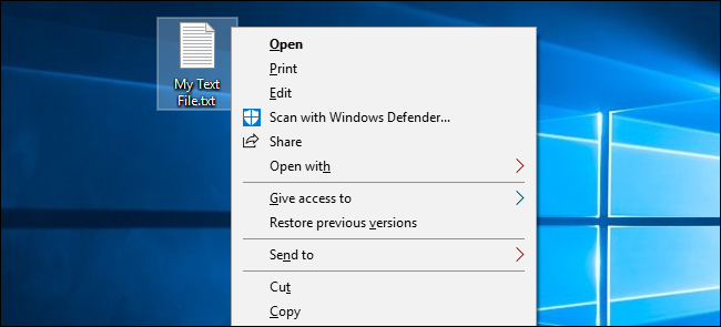 How to Make Windows 10 Underline and Highlight Menu Shortcut