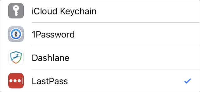 How to Choose Your Favorite Password Manager For AutoFill on