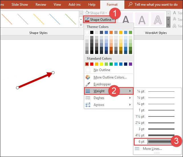 How to Draw and Manipulate Arrows in Microsoft PowerPoint