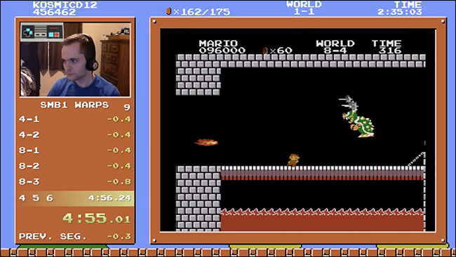 Watch This Maniac Beat Super Mario Bros  in Four Minutes and