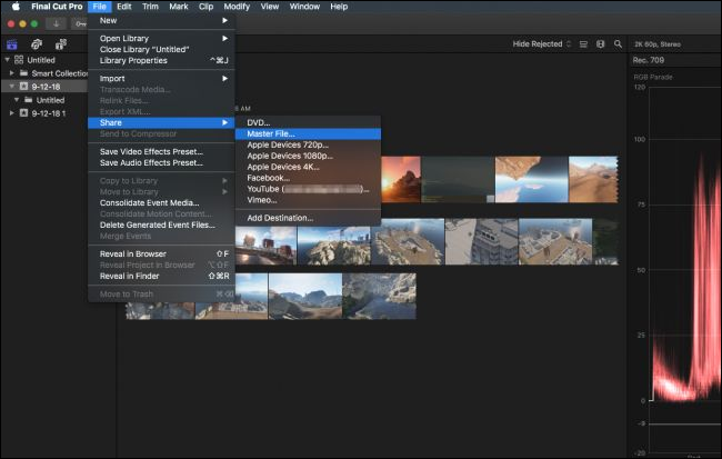 how to get video effects final cut
