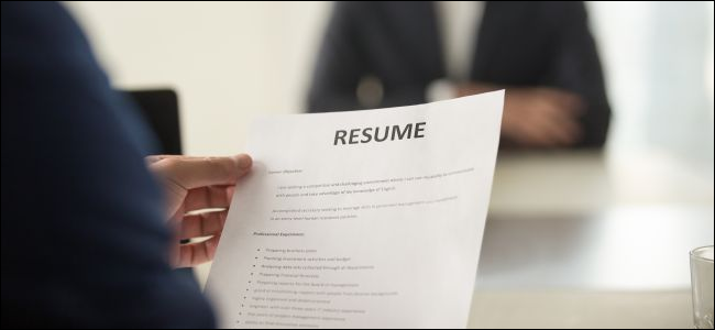 How To Create A Professional Resume In Microsoft Word