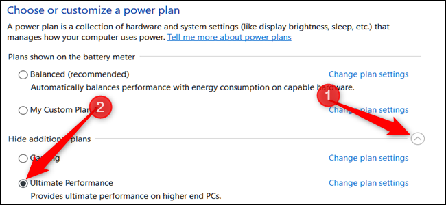How to Enable the Ultimate Performance Power Plan in Windows 10