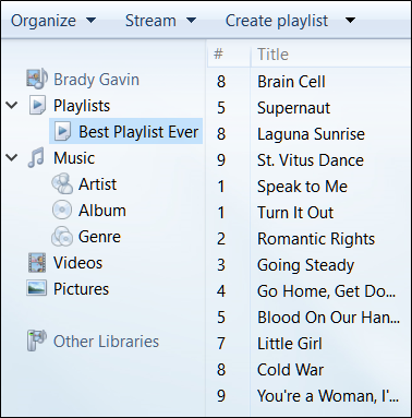 How to Transfer a Windows Media Player Playlist to a