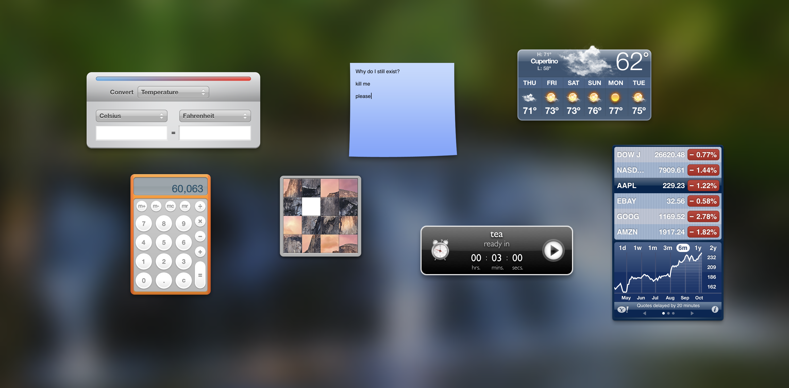 Why Does the macOS Dashboard Still Exist?