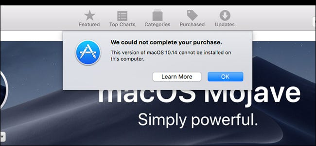 Apple Is Still Sending macOS Mojave Upgrade Alerts to Incompatible