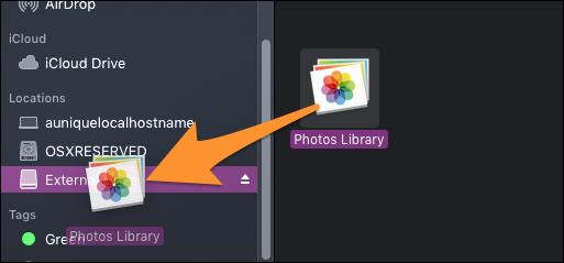 Backup Mac Photos Library To External Hard Drive