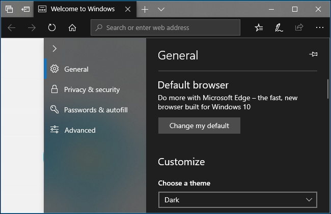 How to Use a Dark Theme in Windows 10