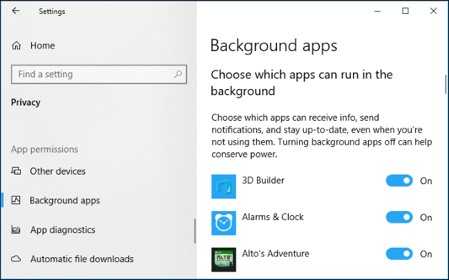 How to Manage App Permissions on Windows 10