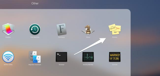 macos desktop stickies