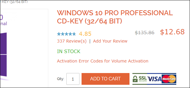 windows 7 pro license ebay