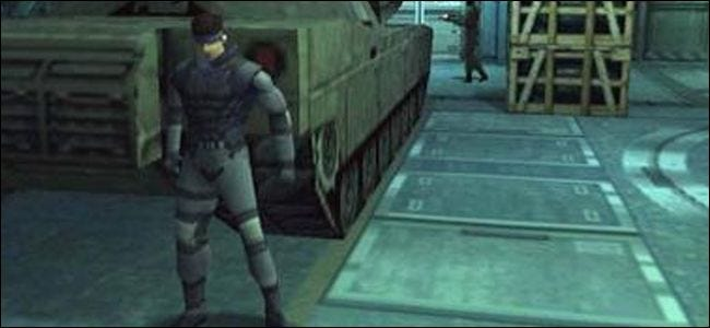 metal gear solid, playstation, graphics, 3d,