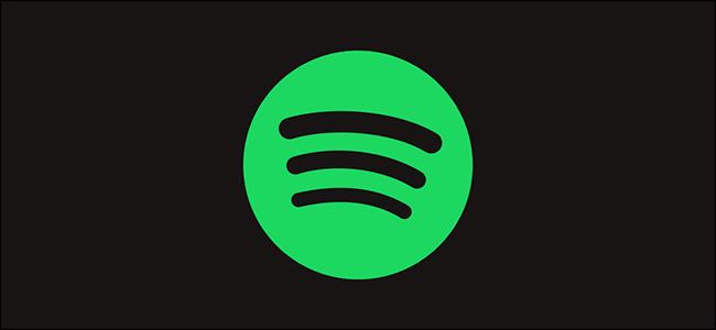 A green Spotify logo on a black background.