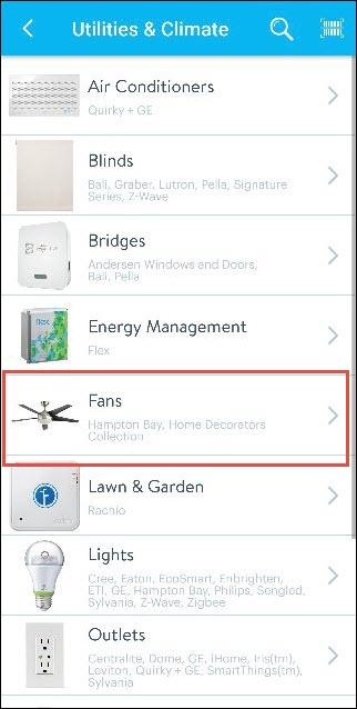 How to Set Up a ZigBee Smart Ceiling Fan with a Wink Hub