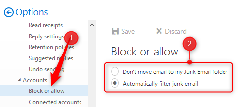 how to change back from focused email outlook