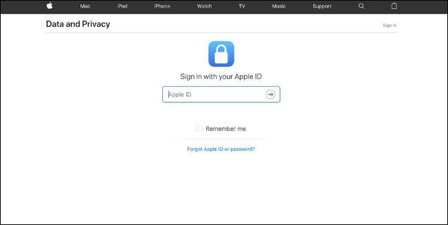 Apple now lets USA customers download Apple ID account data