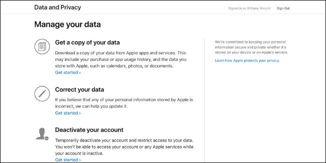Apple's New Data & Privacy Portal Lets You Download Your Data