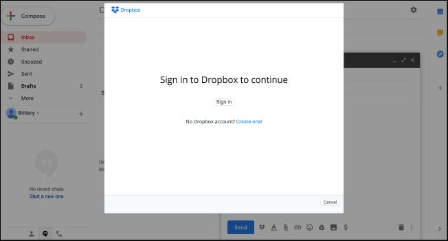 How to Use New Gmail Add-Ons (Like Dropbox) – CHEPA website