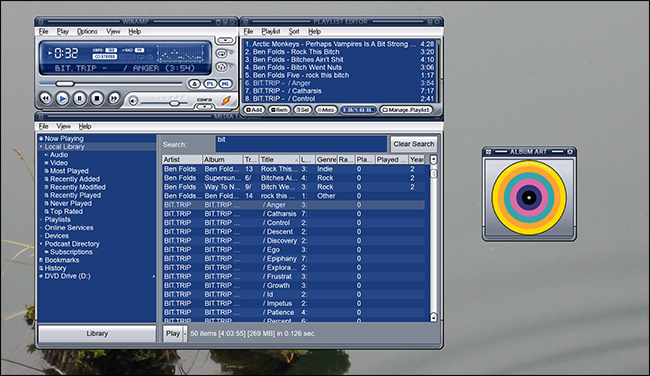 MUSIC GEEK ALERT! Winamp is Making A Comeback As All-In-One Player