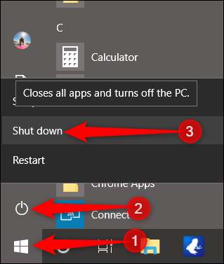 How to Stop Windows 10 from Reopening the Last Open Apps on