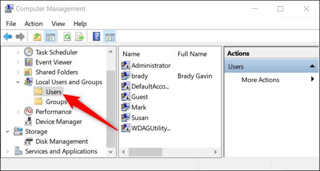 delete administrator account windows 10 pro