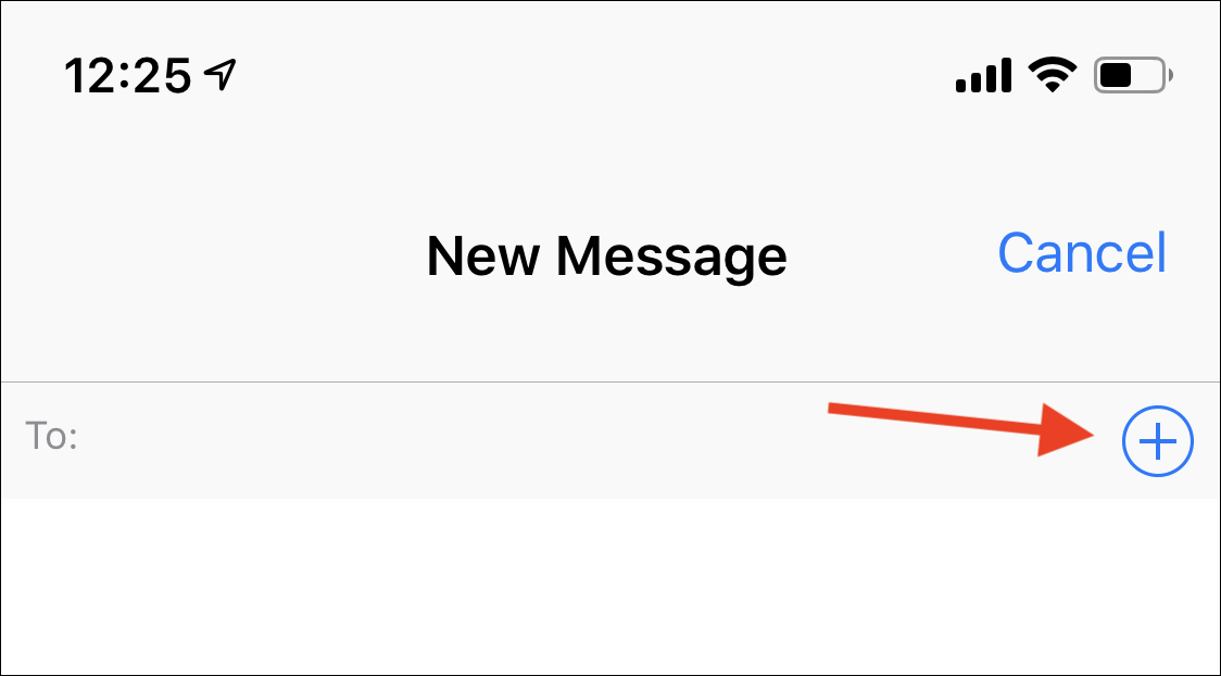 how to create a group chat on iphone messages