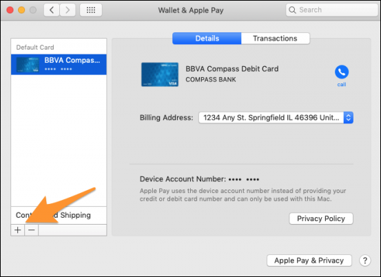 how to set up apple pay on mac