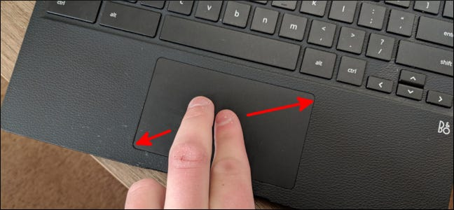 7f0f0d6e860 Zoom back out by placing two fingers separated on the trackpad, then  bringing them together. You can also press the Ctrl and – (minus) keys at  the same time ...